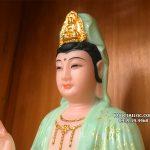tượng phật bà quan âm bồ tát xanh ngọc vẽ 3d đẹp nhất hcm