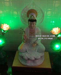 Đèn Bình Ngọc Trang Trí Bàn Thờ Phật Đẹp DTBN-002