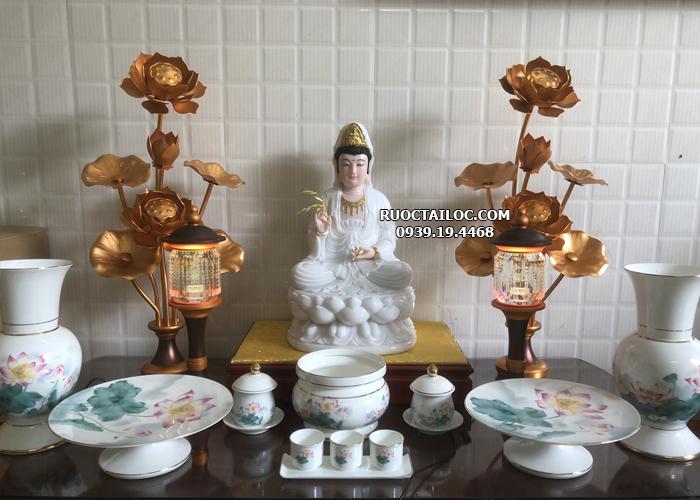 cách bài trí bàn thờ phật bà quan thế âm đẹp nhất tại nhà