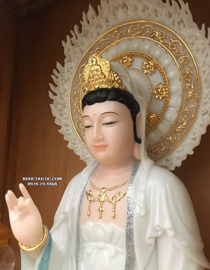 tươợng Phật bà quan thế âm bằng đá đẹp nhất
