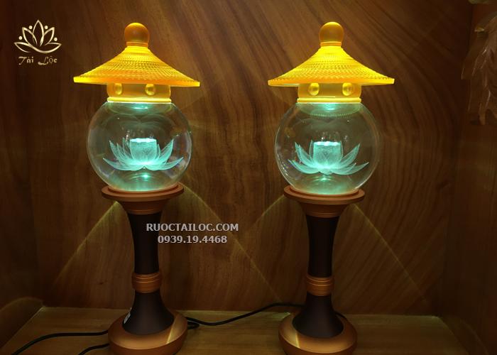 địa chỉ bán đèn thờ cúng bằng pha lê đẹp rẻ