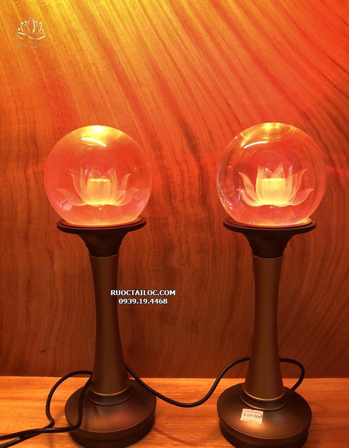 đèn thờ cúng thân đồng đẹp nhất