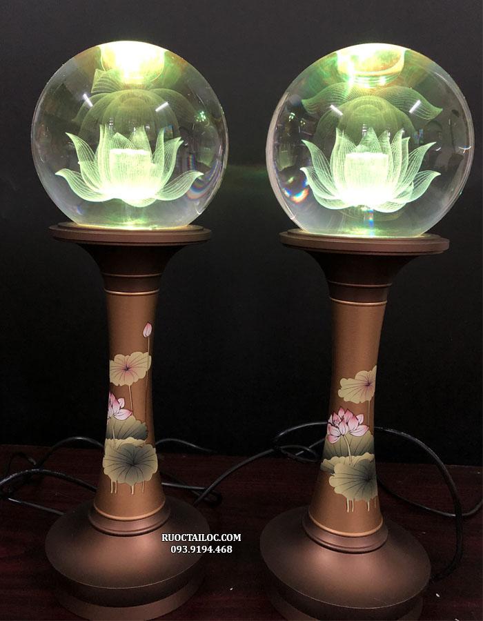 đèn thờ cúng phật và gia tiên đẹp