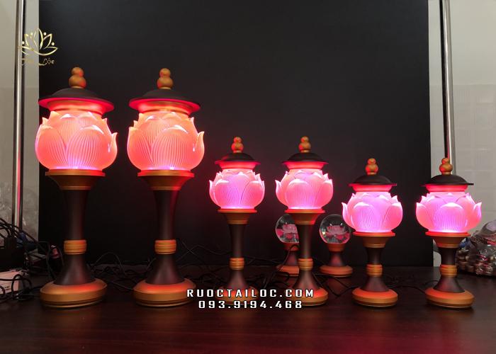 đèn led thờ phật đổi màu đẹp