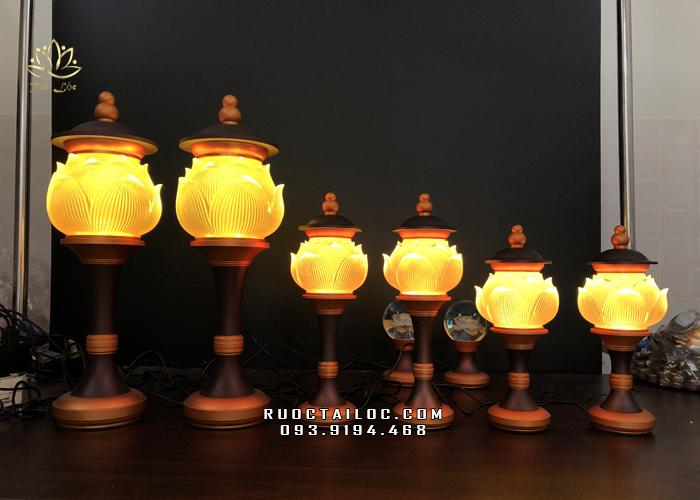 ở đâu bán đèn thờ phật bằng lưu ly