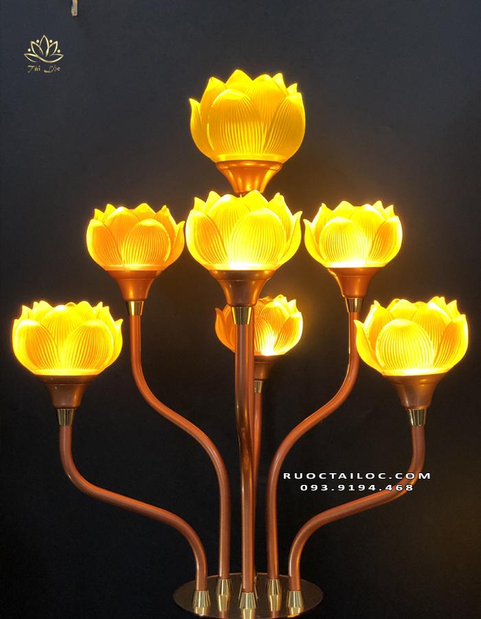 đèn cúng dường phật đẹp giá rẻ