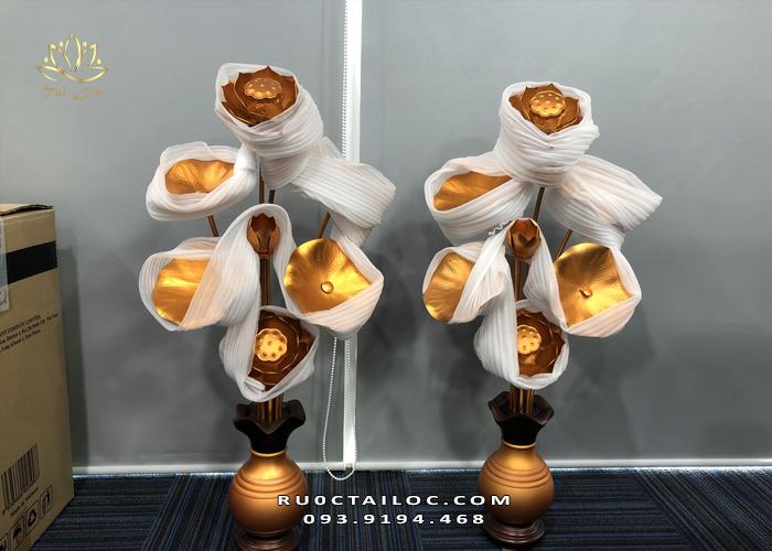 ở đâu bán đôi lọ hoa sen bằng đồng đẹp