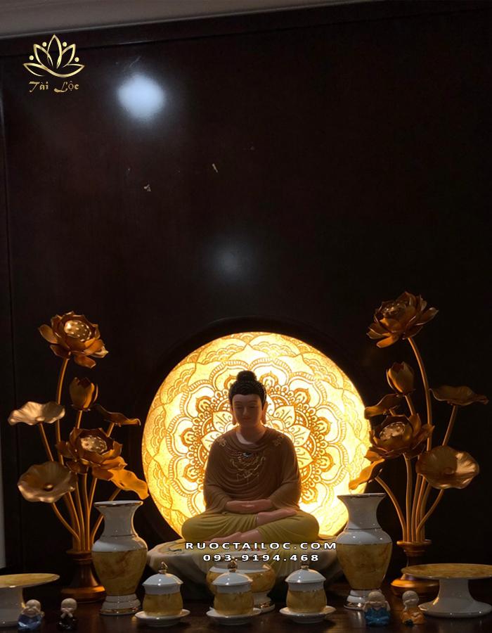 cách bài trí bàn thờ Phật đẹp nhất