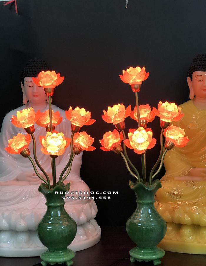 đèn bình ngọc thờ cúng đẹp nhất hiện nay