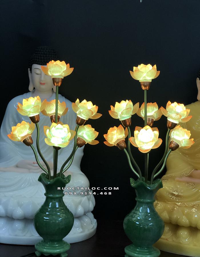 đèn bình ngọc 7 bông đẹp nhất
