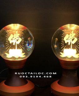 đèn hoa sen chữ phật giá rẻ nhất