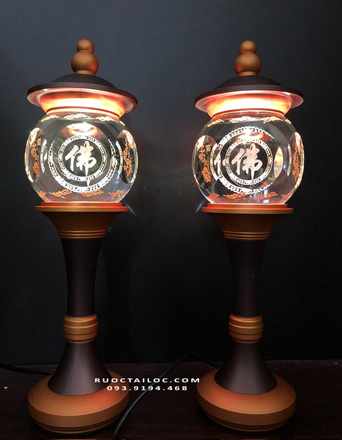 mua đèn chữ Phật thờ cúng ở đâu đẹp