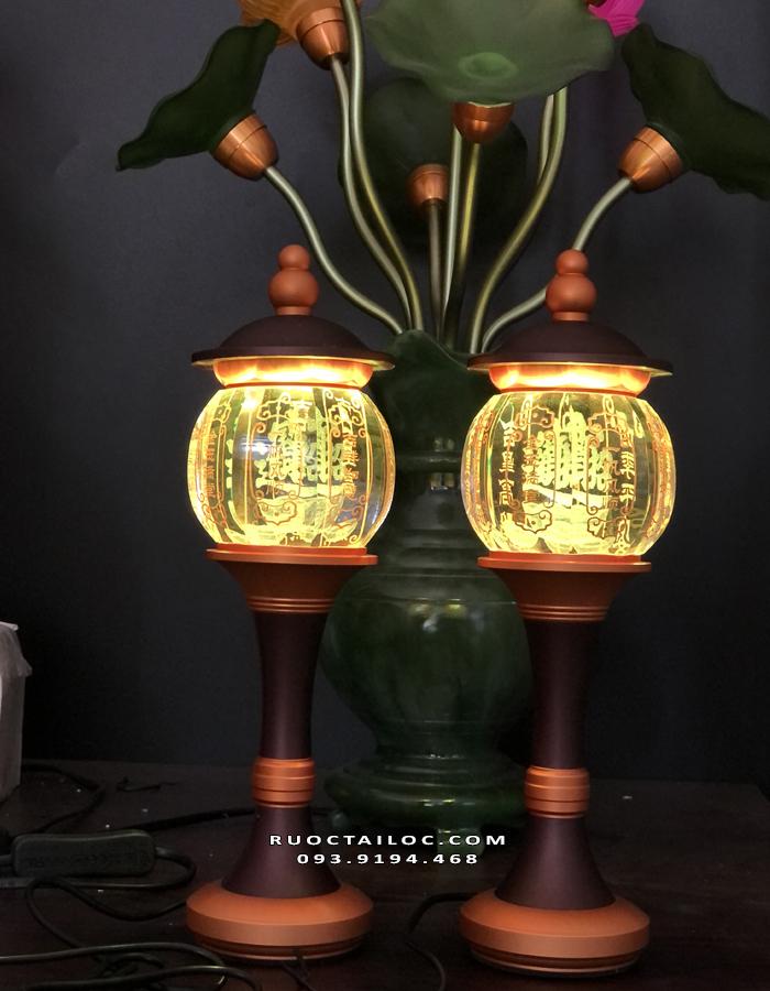 đèn thờ cúng chiêu tài đẹp