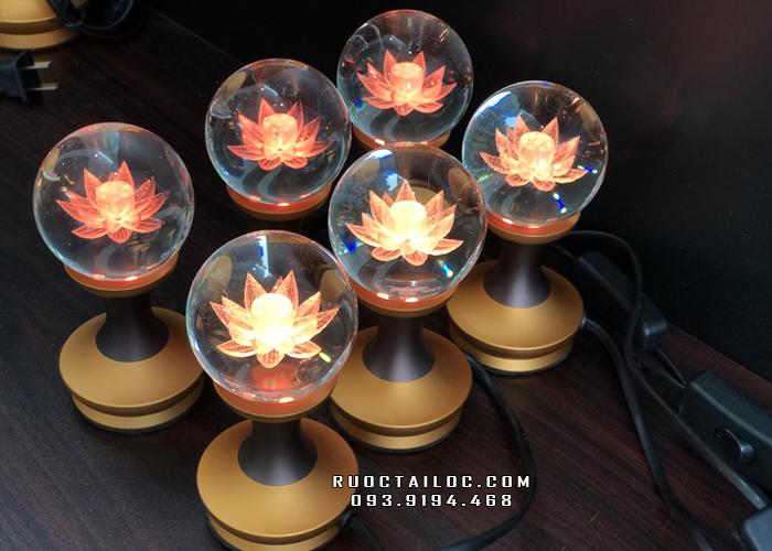 đèn cầu tròn thờ phật và gia tiên cao 13cm giá rẻ nhất