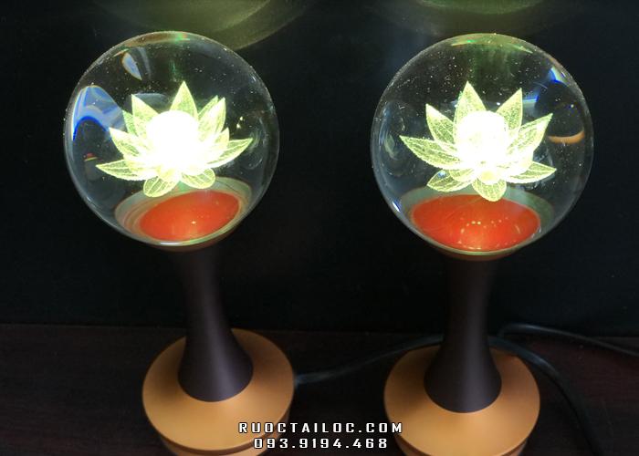 đèn cầu thân trơn 18cm giá rẻ thờ cúng đẹp nhất