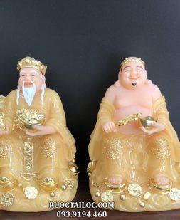 địa chỉ bán tượng ông địa thần tài bằng đá vàng ngọc rẻ nhất