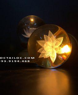 Mẫu đèn thờ không dây dùng pin hình cầu cổ ngắn đẹp nhất