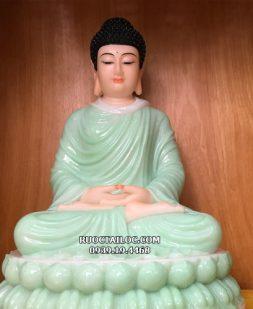Tượng Phật Thích Ca Mâu Ni màu xanh ngọc đẹp nhất